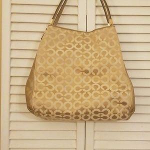 Coach shoulder hand bag